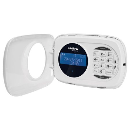 Teclado LCD para Central de Alarme Monitorada XAT 2000 LCD -  Intelbras