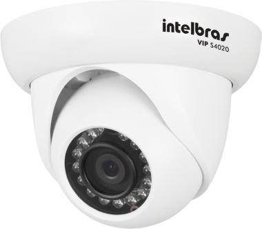 Camera Infra Dome IP VIP S4020 IR 20M 1.0 MP Lente 2.8MM POE G2  - Intelbras