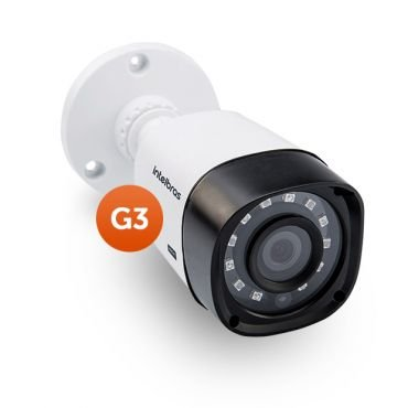 Camera Infra Multi-HD VHD 1120 B IR20 Lente 2,8MM BC - G3 - Intelbras