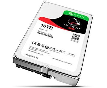 HD Seagate SATA 3,5´ IronWolf NAS 10TB 7200RPM 256MB Cache SATA 6Gb/s - ST10000VN0004