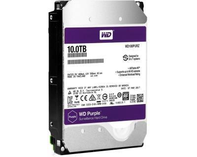 HD Interno Western Digital Purple 10TB SATA Desktop (WD100PURZ)