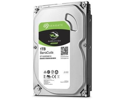 HD Interno Seagate 1TB Desktop BarraCuda SATA 64MB 3.5 7200RPM (ST1000DM010)