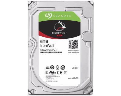 HD Interno Seagate NAS IronWolf 6TB SATA 128MB 3.5 7200RPM (ST6000VN0041)
