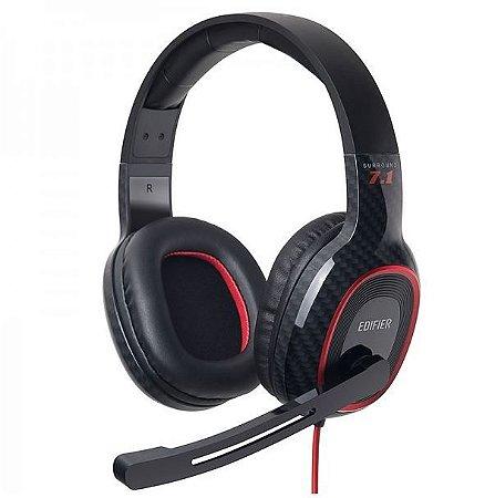 Headset Gamer 7.1 EDIFIER G20 Over-Ear - Preto