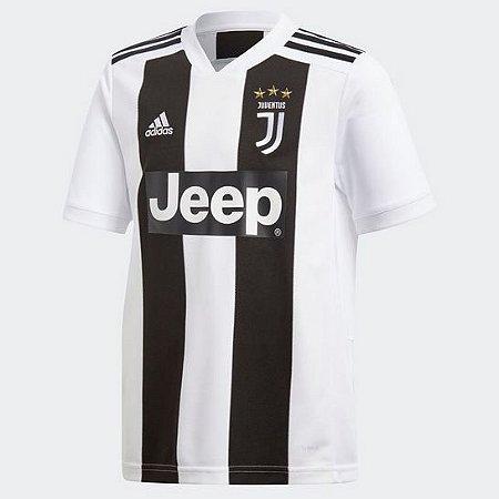 Camisa Juventus Home 18 19 s nº - Torcedor Adidas Masculina - Branco ... e27512fbd49dd