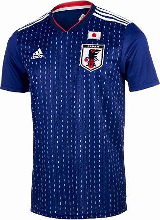 9da8a0b95d574 Camisa Seleção Japão Home 2018 s n°Torcedor Adidas - Azul - Tenis ...