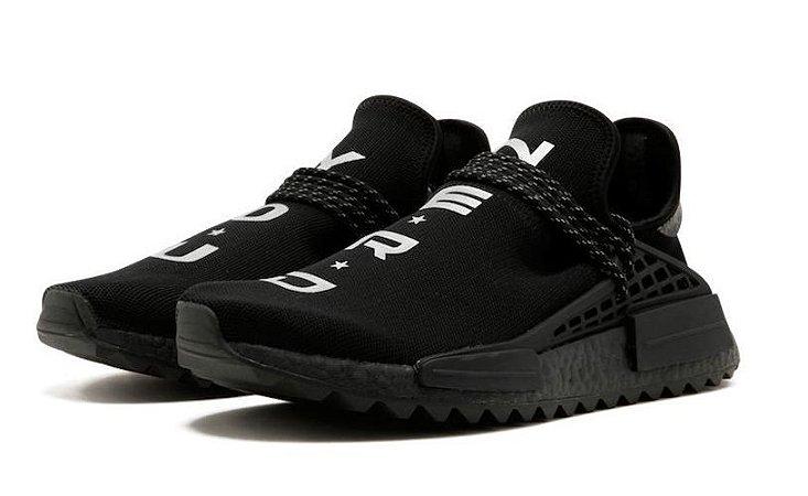 online store f188d 8afbd Tênis Adidas NMD Trail Human Race HU Pharrell NERD