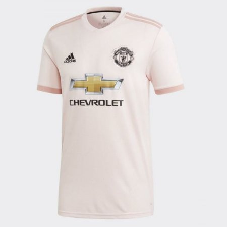 fe354e0151df1 Camisa Reserva Rosa Do Manchester United 2018-2019 adidas - Tenis ...