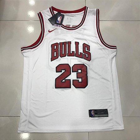 CAMISA NBA CHICAGO BULLS JORDAN 23 BASQUETE - BRANCA - Tenis Com ... e0f1a5e4c99