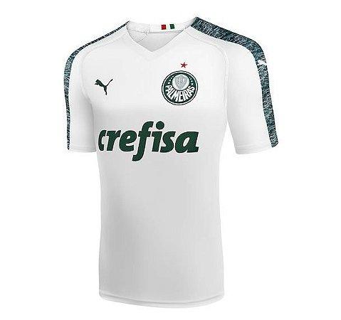 Camisa Palmeiras II 19 20 s n° - Torcedor Puma Masculina - Branco ... 79d07bd7b02be
