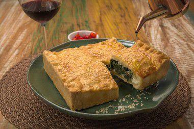 Torta de Espinafre da casa