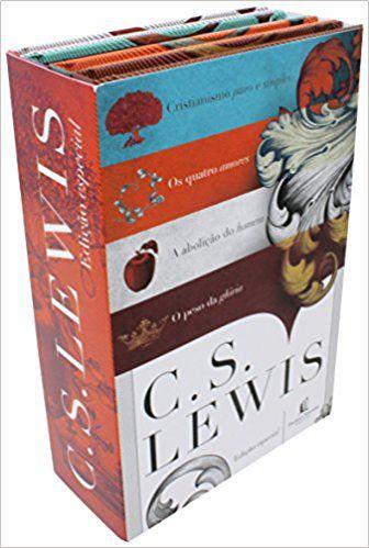 Box – C. S. Lewis –  Capa Dura