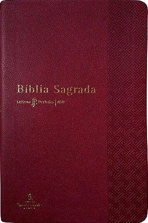Bíblia NVI Leitura Perfeita | Capa Vermelha Luxo | Livraria El Shaddai