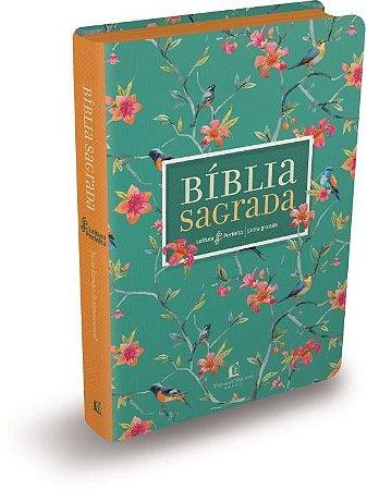 Bíblia NVI Leitura Perfeita | Capa Primavera | Letra Grande
