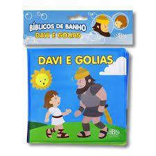 Livro bíblico de Banho Davi e Golias