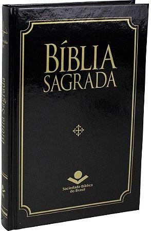 Bíblia Sagrada RC | Capa dura – Preta | SBB