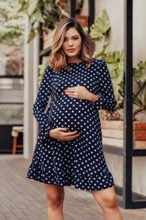 Vestido Retrô Maternity
