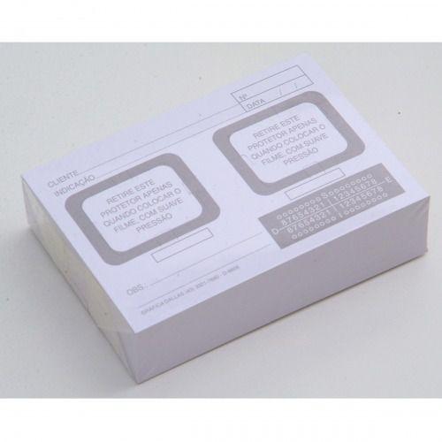 Cartão para Raio-X 02 furos c/ 100