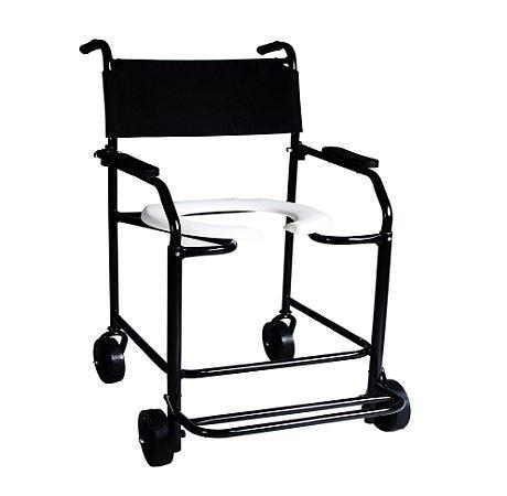 Cadeira de Banho Fixa – Braços e Pés Escamoteáveis - DUNE