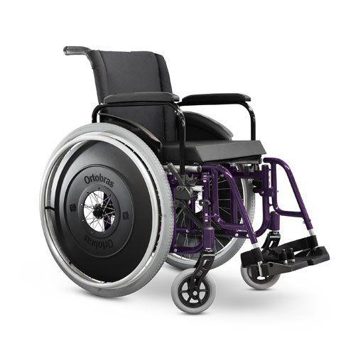 Cadeira de Rodas Aktiva Ultra-Lite X com Opcionais - Ortobras