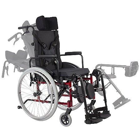 Cadeira de Rodas MA3R Reclinável - ORTOMOBIL