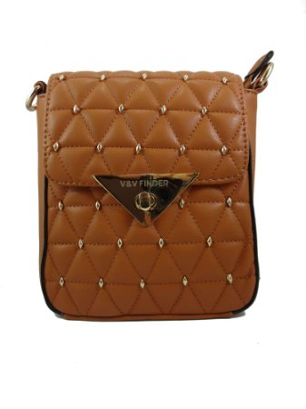 ed5e726943 Bolsa transversal caramelo V V finder - FiFi Look s Loja de moda ...