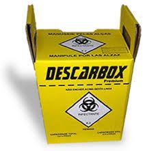 Coletor de Mat Perfurocortante 3L - Descarbox