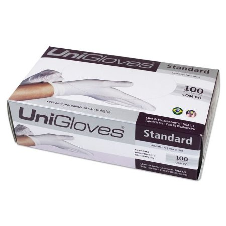 Luva para Procedimento Standard M - Unigloves