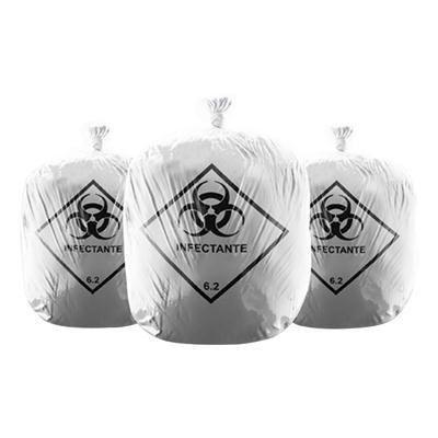 Saco de Lixo Hospitalar (15Litros) - Azeplast