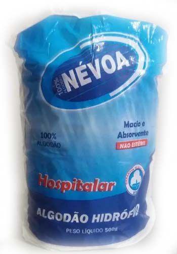 Algodão Hidrofilo 500g - Nevoa