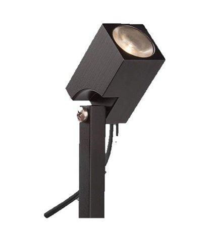 Espeto Direct Light Quadrati Articulado LED 1,5 watts 11° 3000K IP66 Haste 200mm 127v