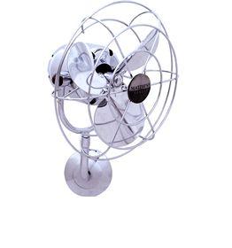 Ventilador W30P Parede Cromado 110V Gerbar