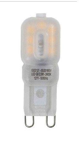 Lâmpada Led G9 2,5w 2400k Branco Quente Germany 127v St329