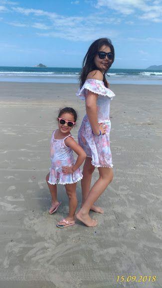 Tal mãe, Tal filha Maiô Rose