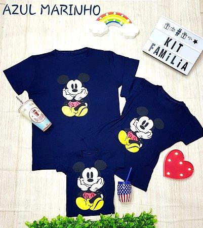 Kit família Mickey azul
