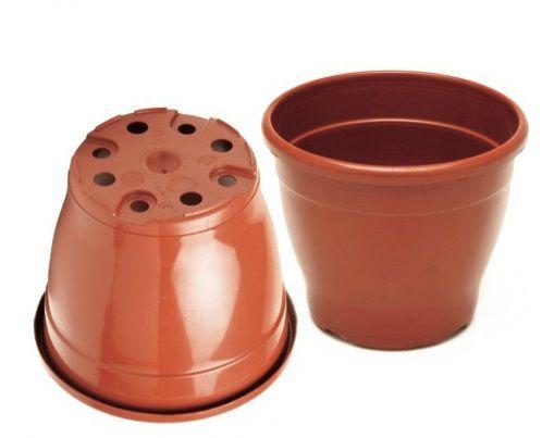 Vaso Plástico 19,5cm x 23,5cm Linha Classic