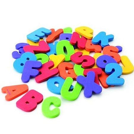 Letras e Números para Banho Munchkin