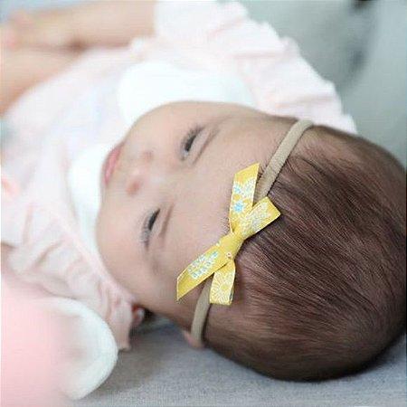 Faixa mini lacinho recém nascido