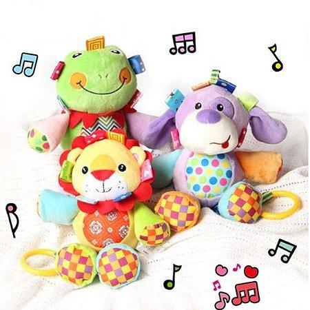 Chocalho Musical Bichinhos