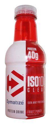 ISO100 Clear RTD 591ml - Dymatize
