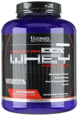 ProStar 100% Whey Protein 5lb (2,2kg) - Ultimate Nutrition