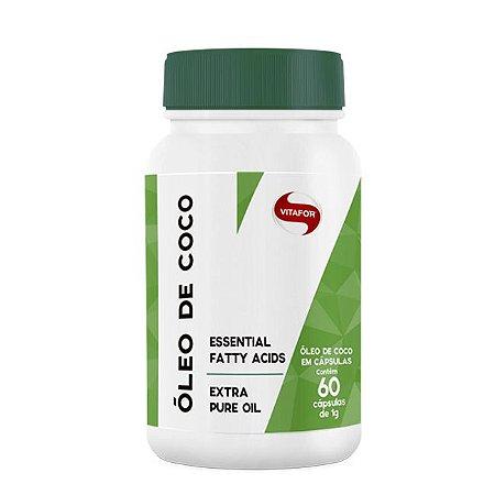 Óleo de Coco 1000mg (60 cápsulas) - Vitafor