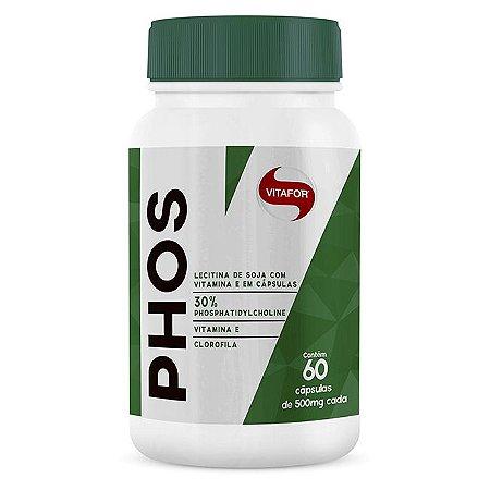 PHOS 500mg (60 cápsulas) - Vitafor