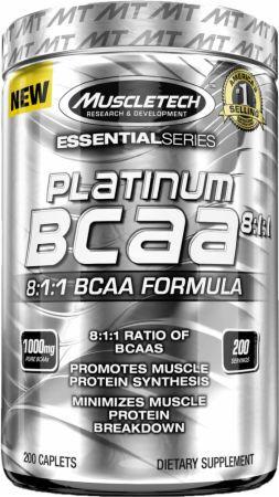 Platinum BCAA 8:1:1 (200 cápsulas) - MuscleTech