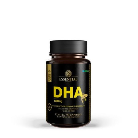 DHA TG 1000mg (90 cápsulas) - Essential Nutrition