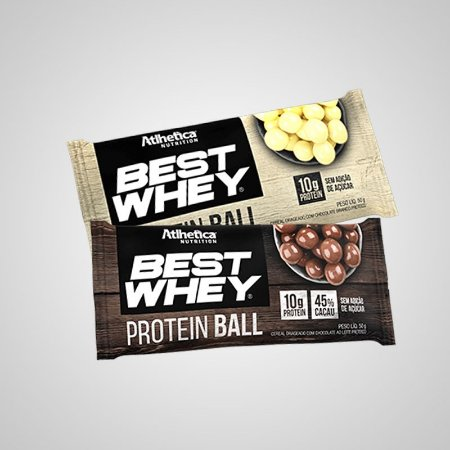 Best Whey Protein Ball (45g) - Atlhetica Nutrition