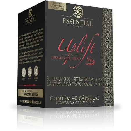 Uplift caffeine 40 cápsulas - Essential Nutrition