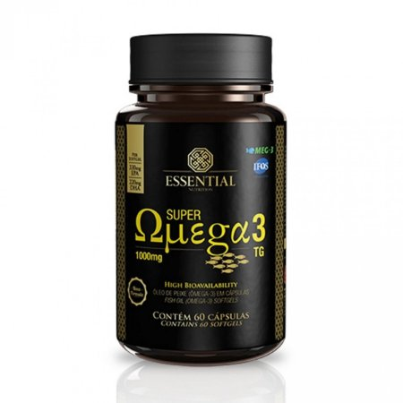 Super Ômega TG (60 cápsulas) - Essential Nutrition
