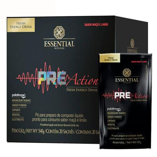 Pre-Action (540g) - Essential Nutrition