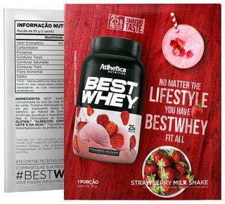 Best whey 1 Sachê - Atlhetica Nutrition